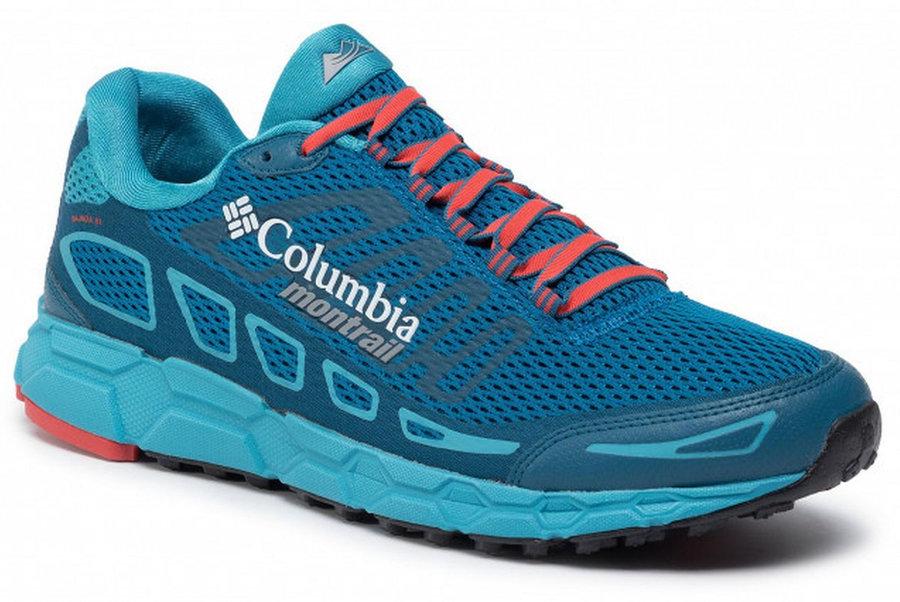 Modré pánské běžecké boty Columbia
