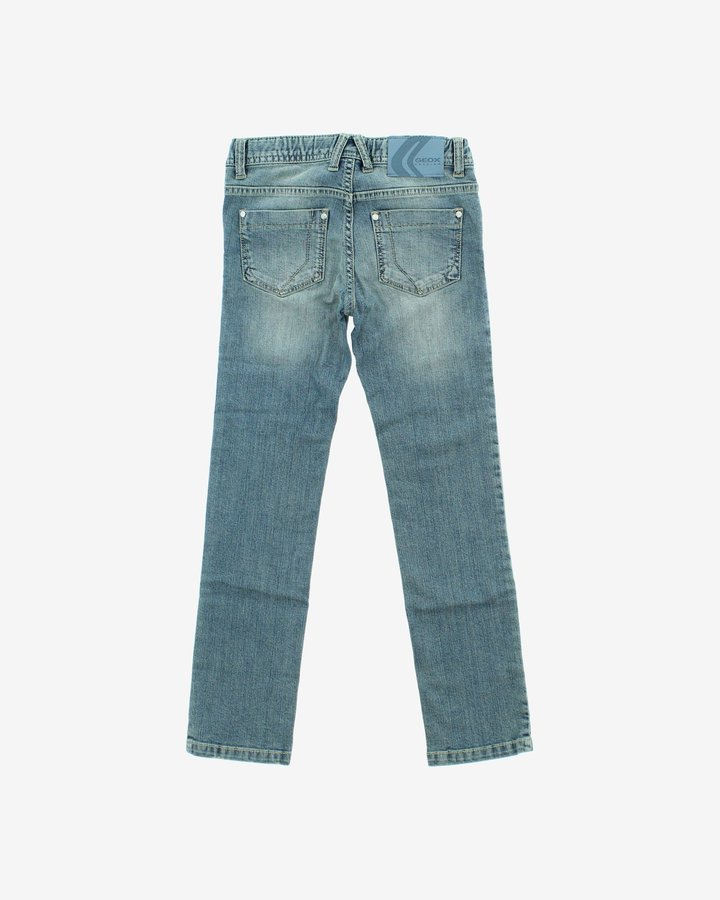 Modré dívčí džíny Geox - velikost 116