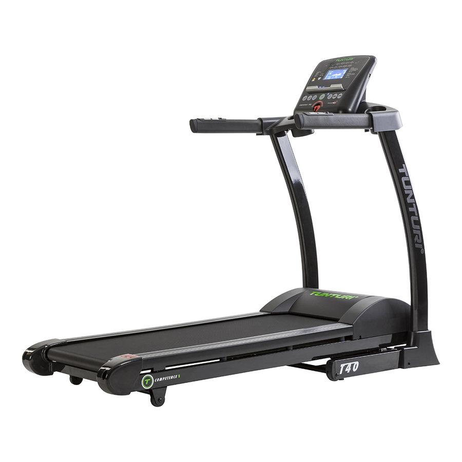 Běžecký pás T40 Treadmill Competence, Tunturi - nosnost 135 kg