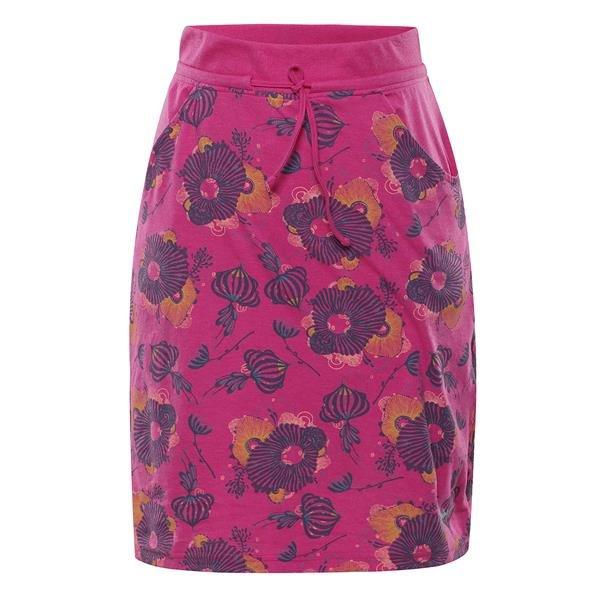 Růžová dámská sukně Alpine Pro - velikost M