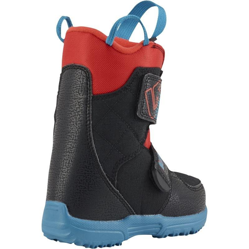 Černé chlapecké boty na snowboard Burton