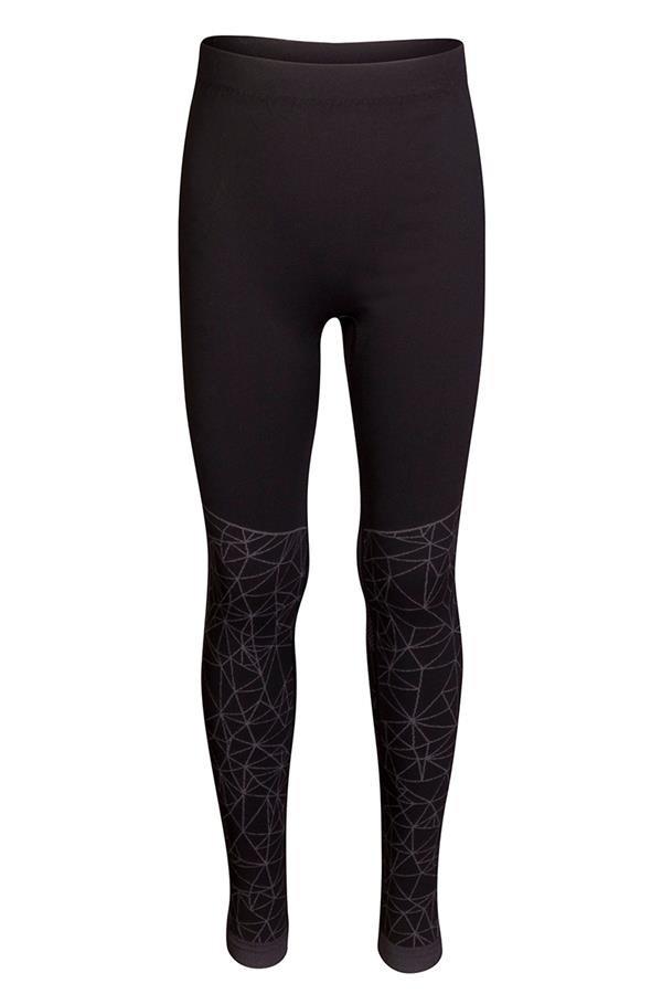 Černé dětské funkční kalhoty Alpine Pro - velikost M
