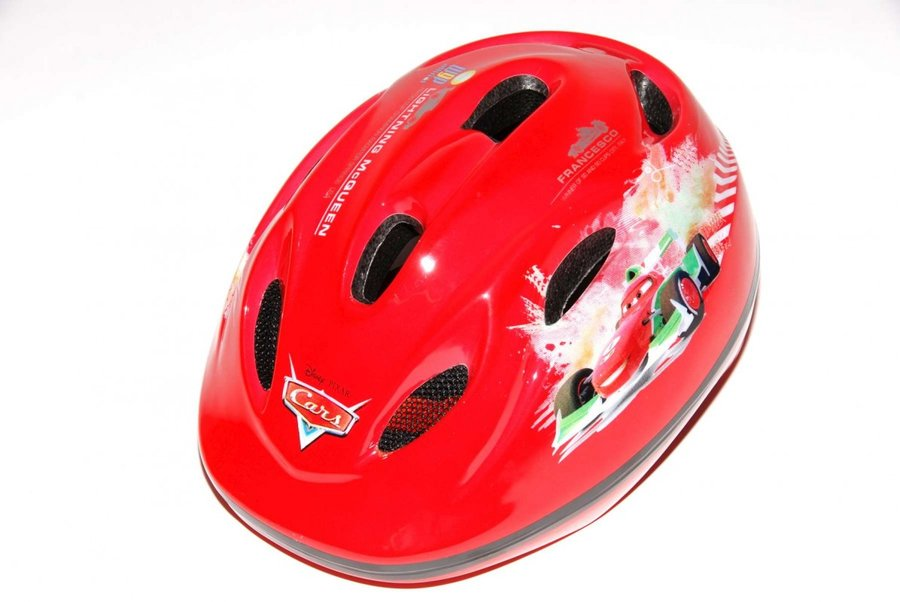 Cyklistická helma - VOLARE - Dětská přilba Deluxe, Cars