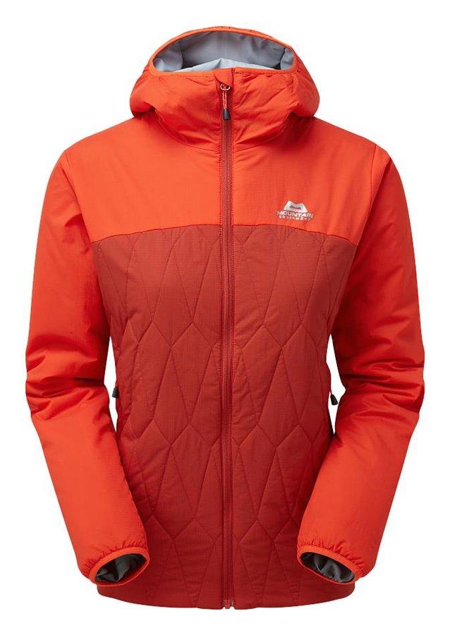 Červeno-oranžová dámská turistická bunda Mountain Equipment