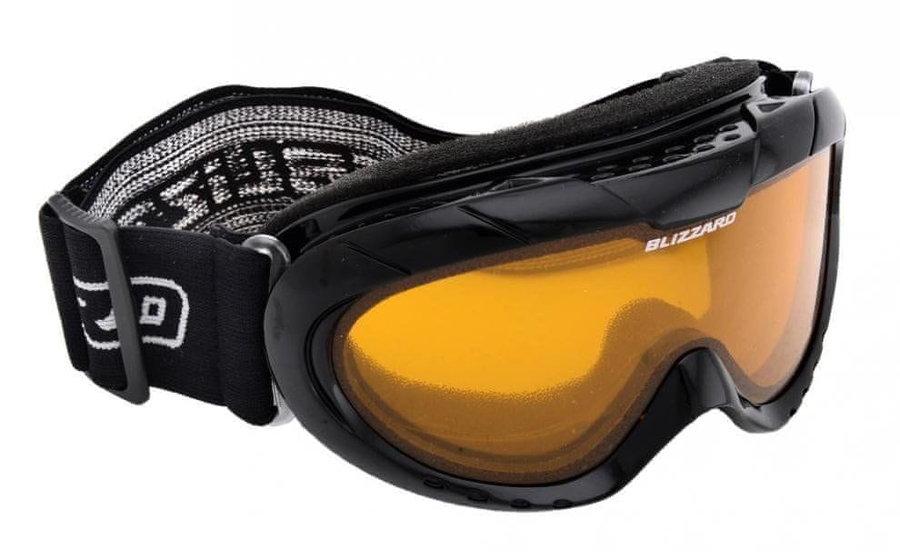 Černé dětské lyžařské brýle Blizzard