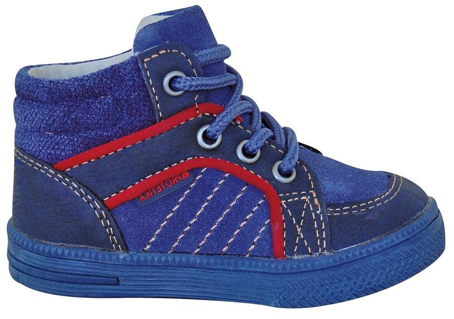 Modré chlapecké tenisky Protetika