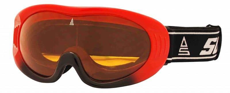 Červené lyžařské brýle Sulov
