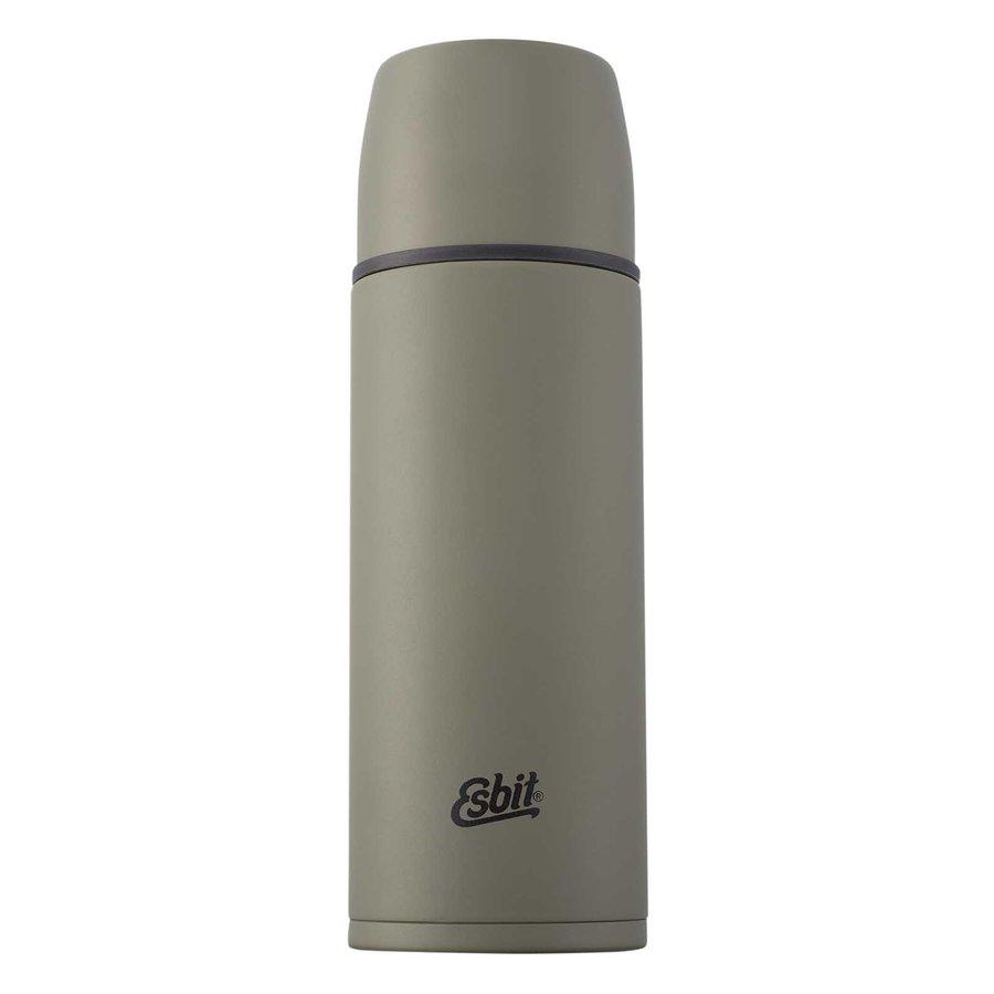 Zelená termoska Flask, Esbit - objem 1 l