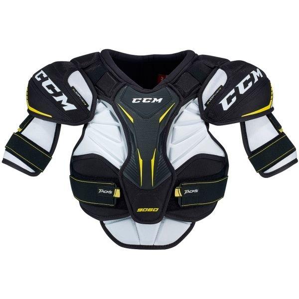 Bílý hokejový chránič ramen CCM