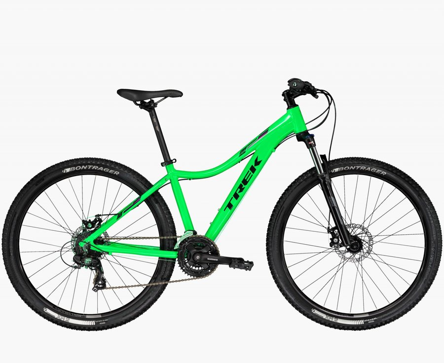 Zelené horské dámské kolo Trek