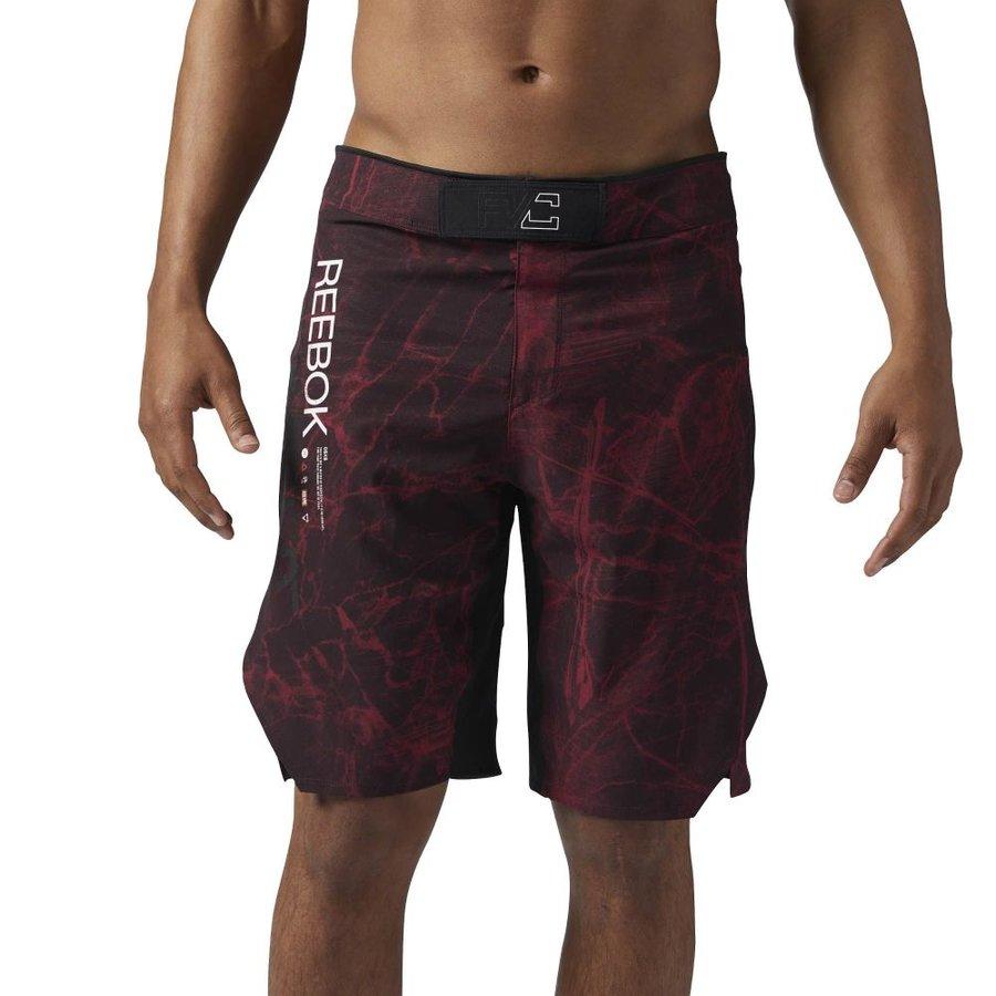 Červené MMA kraťasy Reebok - velikost S