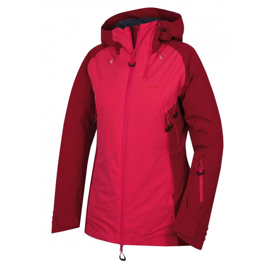 Růžová zimní dámská bunda Husky - velikost XL