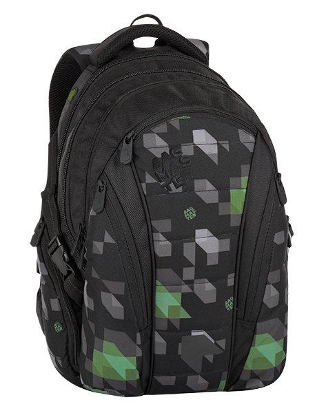Batoh - Bagmaster Bag 8 G Black/green/gray