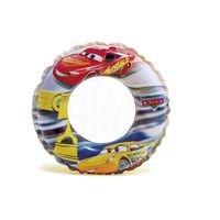 "Různobarevný nafukovací kruh ""Auta"" - průměr 51 cm"