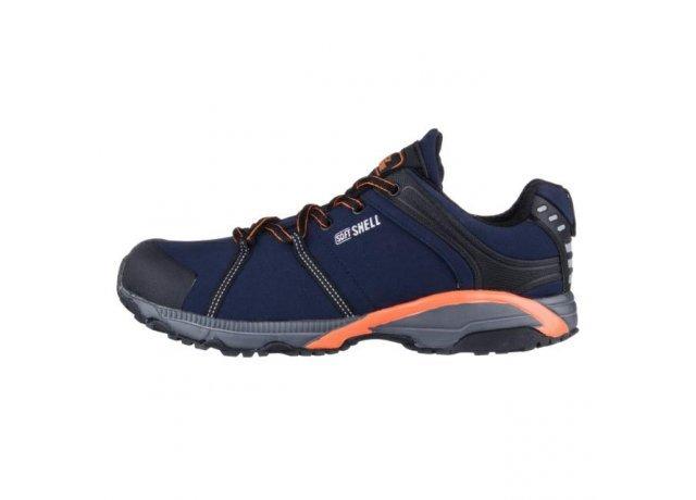 Modré pánské trekové boty EFFE TRE