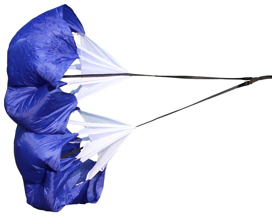 Tréninkový brzdící padák