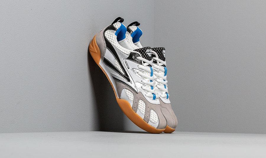 Bílé pánské boty na squash PACCBET