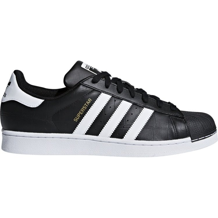 Černé pánské tenisky Superstar, Adidas - velikost 43 EU