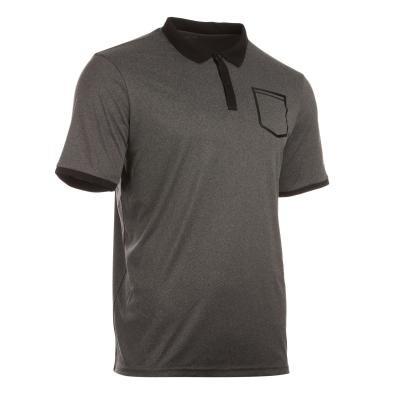 Šedé pánské tenisové tričko Artengo