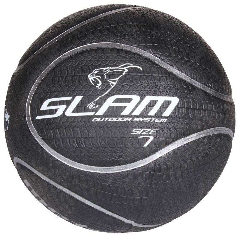 Černý basketbalový míč Slam, Meteor - velikost 7