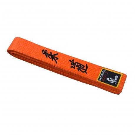 Oranžový judo pásek MASUTAZU