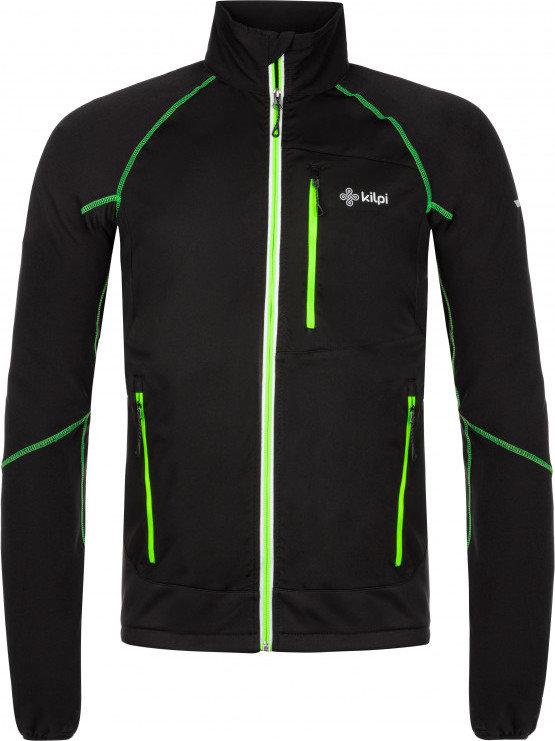 Černá pánská bunda na běžky Kilpi - velikost XL