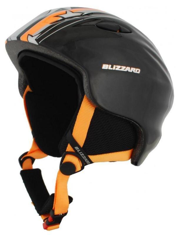 Oranžová dětská lyžařská helma Blizzard - velikost 48-52 cm