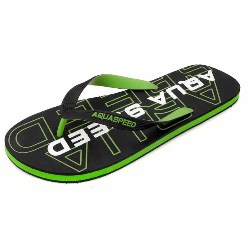 Žabky - Rodos pánské žabky barva: zelená;velikost (obuv / ponožky): 42
