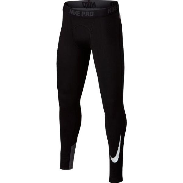 Černé pánské legíny Nike - velikost S