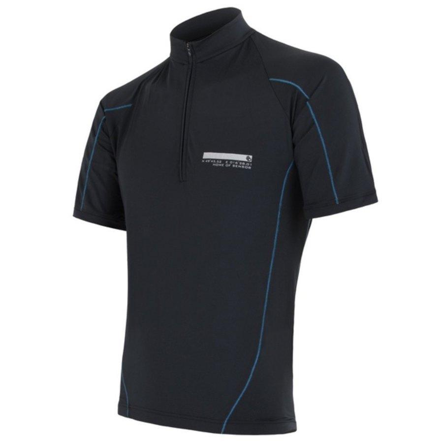 Modrý pánský cyklistický dres Sensor - velikost L