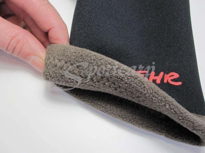 Černé neoprenové rukavice Icebehr Titanium, Behr - velikost L