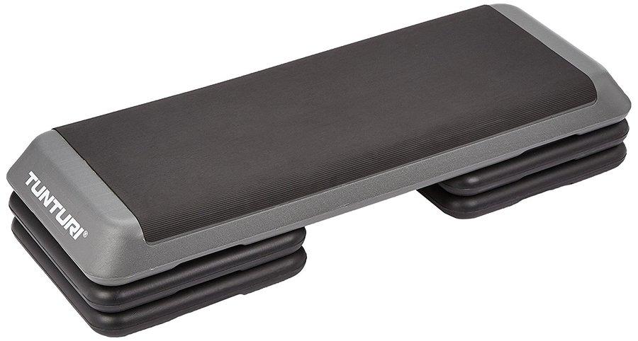 Černo-šedý aerobic step Tunturi
