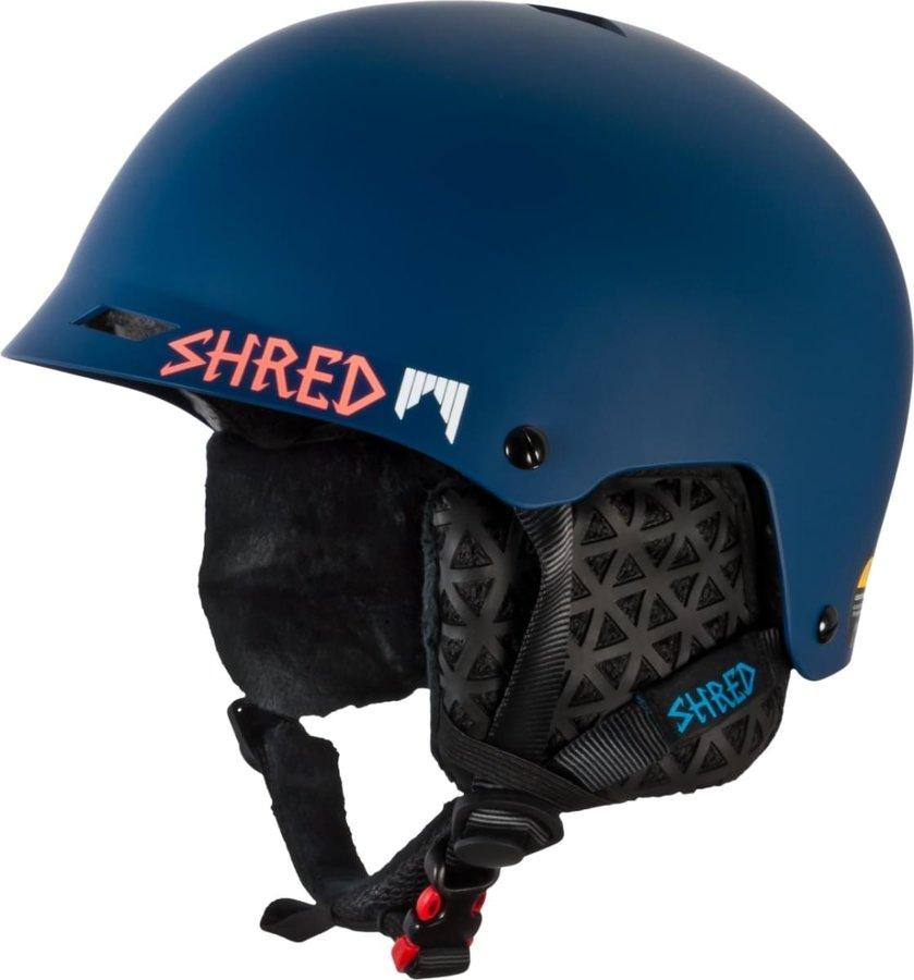 Modrá dámská helma na snowboard Shred - velikost XS-M