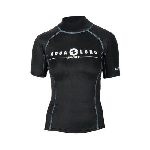 Černé dámské neoprenové tričko SWIM'Z, Aqualung