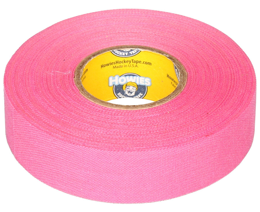 Hokejová omotávka - Howies Textilní páska na hokej 23 m x 2,4 cm růžová