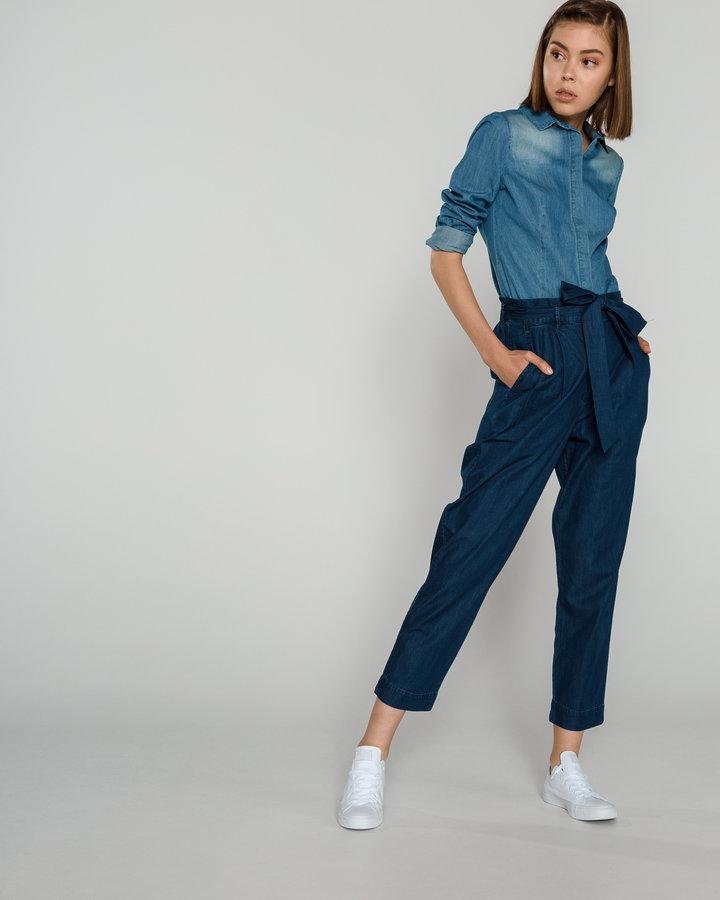 Modrá dámská košile s dlouhým rukávem Fracomina - velikost M