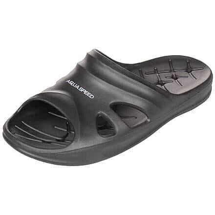 Černé pánské pantofle Aqua-Speed