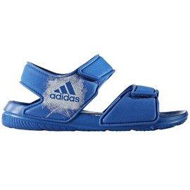 Modré chlapecké sandály Adidas