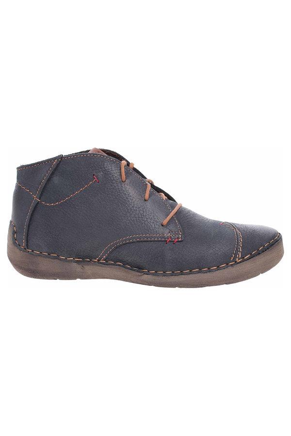 Modré dámské kotníkové boty Josef Seibel - velikost 43 EU