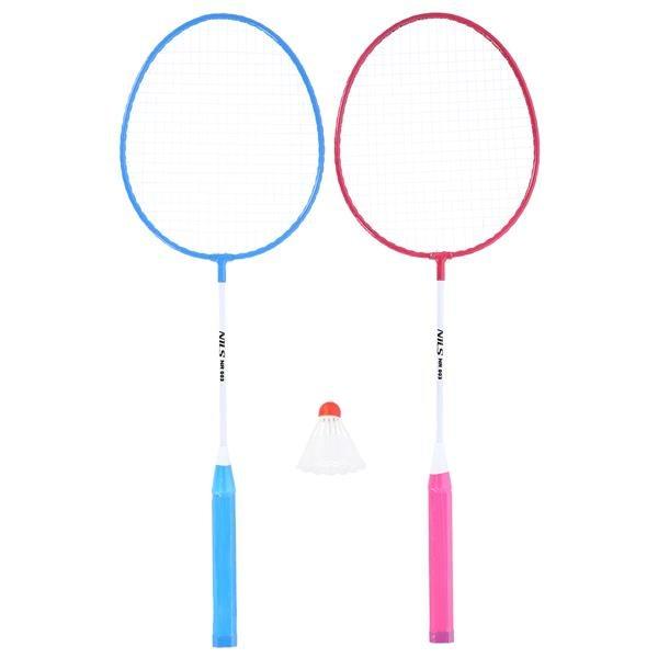Sada na badminton - Ocelový badmintonový set NILS NR003