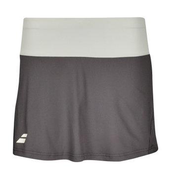 Šedá dívčí tenisová sukně Babolat - velikost 164