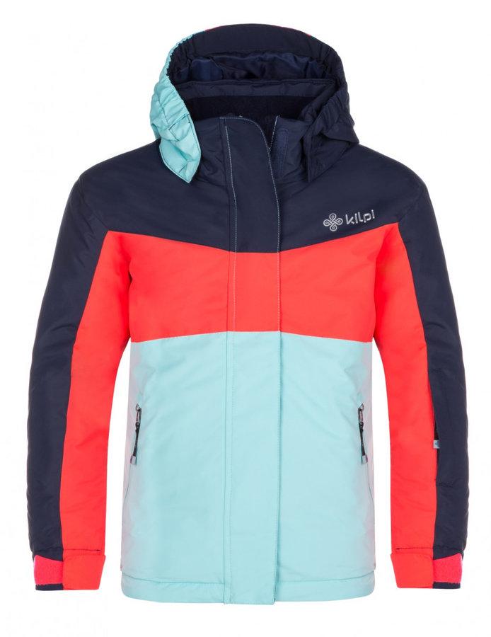 Modro-růžová dětská snowboardová bunda Kilpi