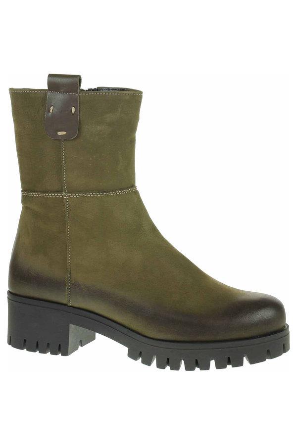 Zelené dámské zimní boty Hujo - velikost 39 EU
