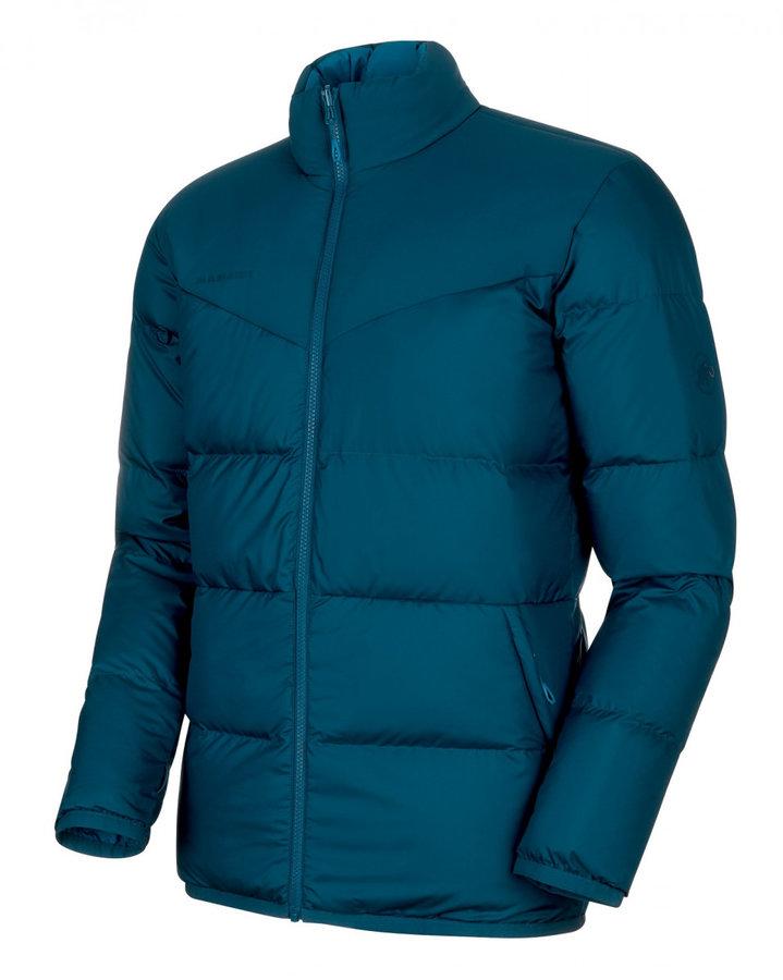 Modrá zimní pánská bunda Mammut