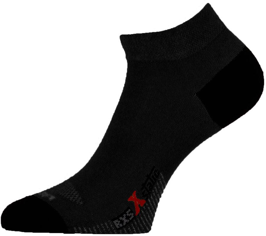 Černé pánské běžecké ponožky RXS 909, Lasting - velikost 34-37 EU