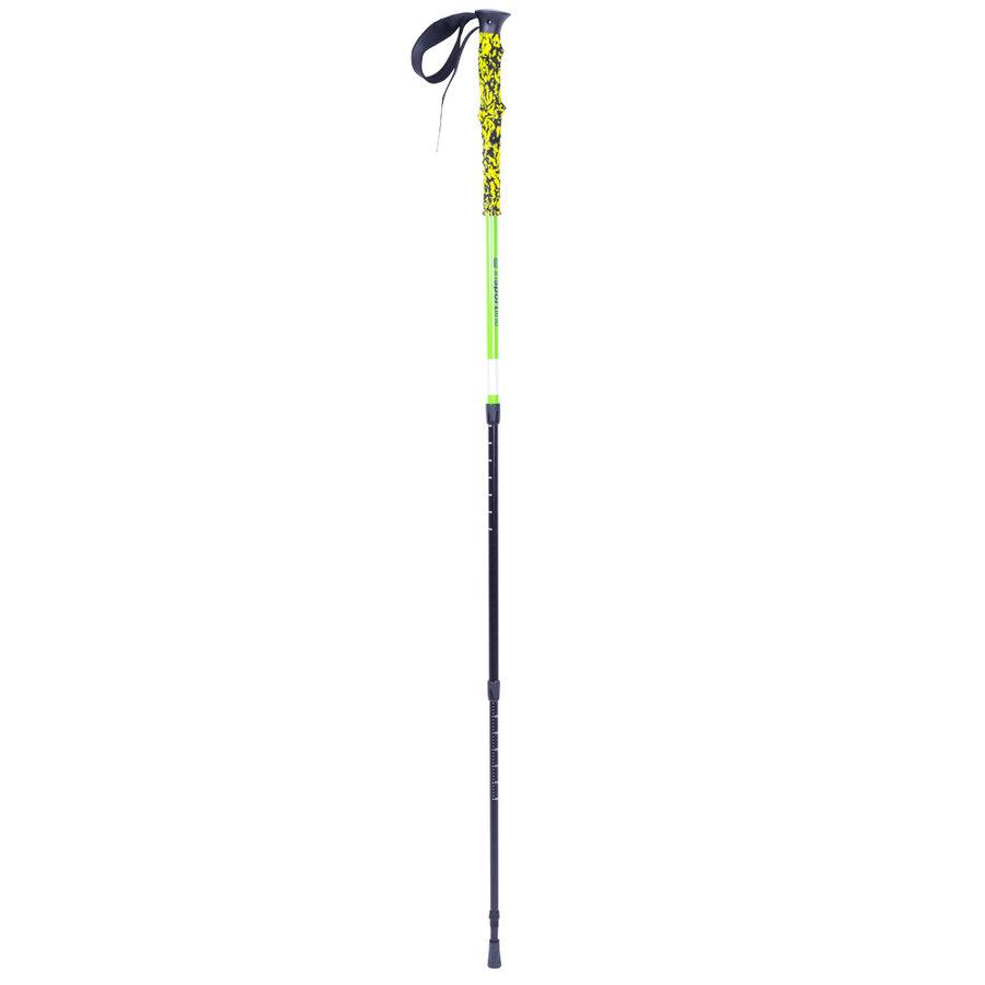 Zelená trekingová hůl Altiplano 100, inSPORTline - délka 135 cm