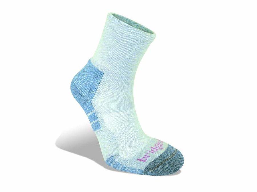 Modré dámské trekové ponožky Bridgedale