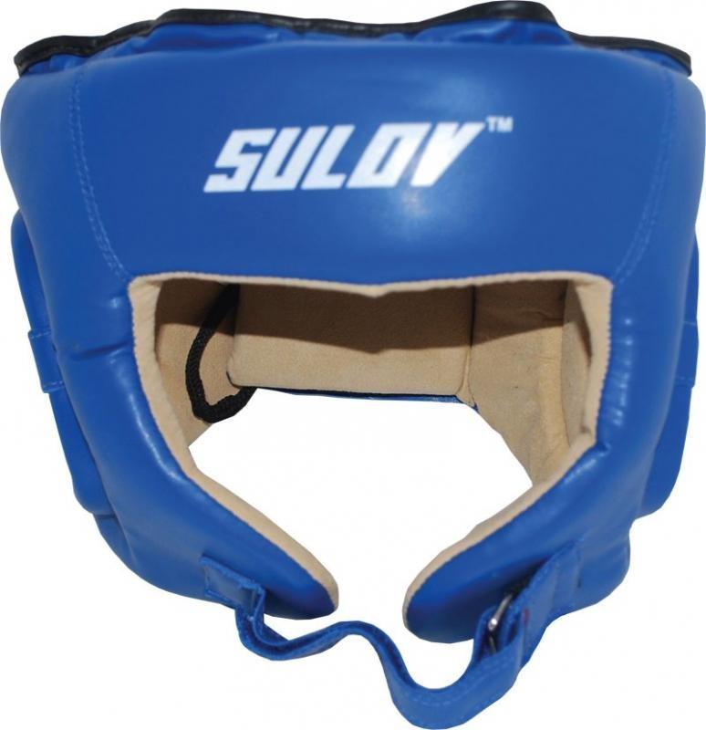 Modrá boxerská přilba Sulov