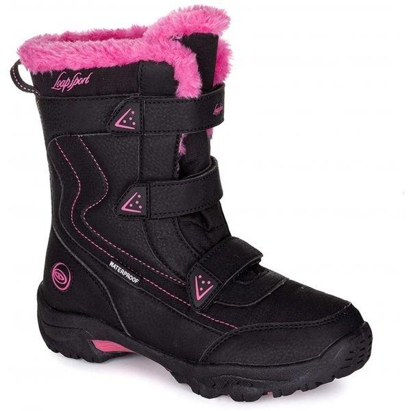 Černé dívčí zimní boty Loap