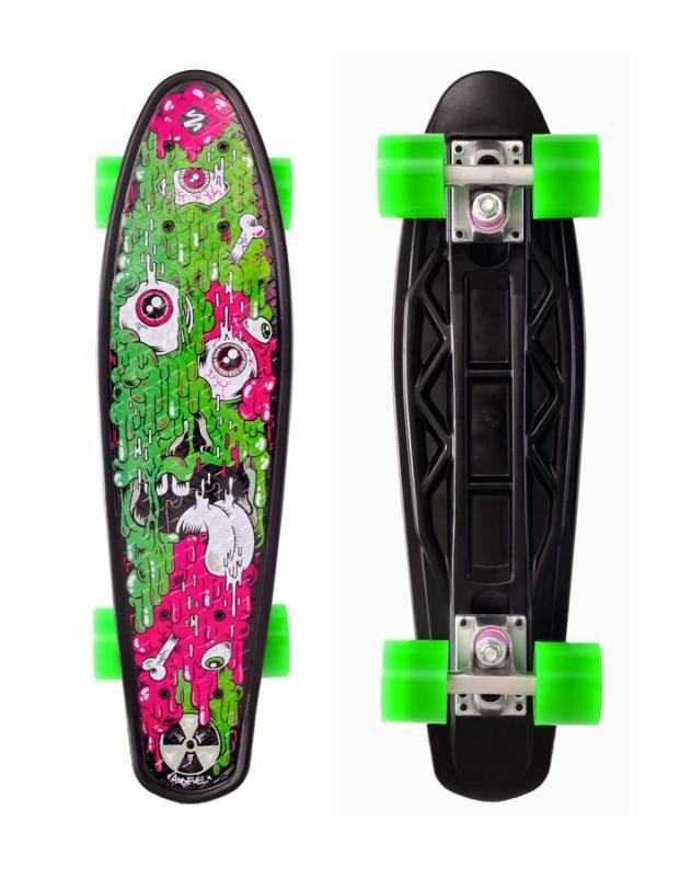 Skateboard - Skateboard Street Surfing FUEL BOARD Melting - artist series
